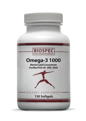 BioSpec Omega-3 1000 (150 Softgels)