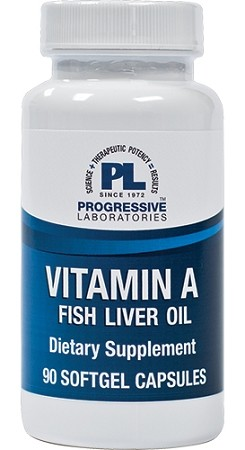Vitamin A Fish Liver Oil   (90 Capsules)